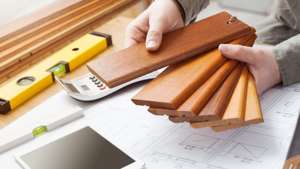 how do I make selections with a remodeling firm