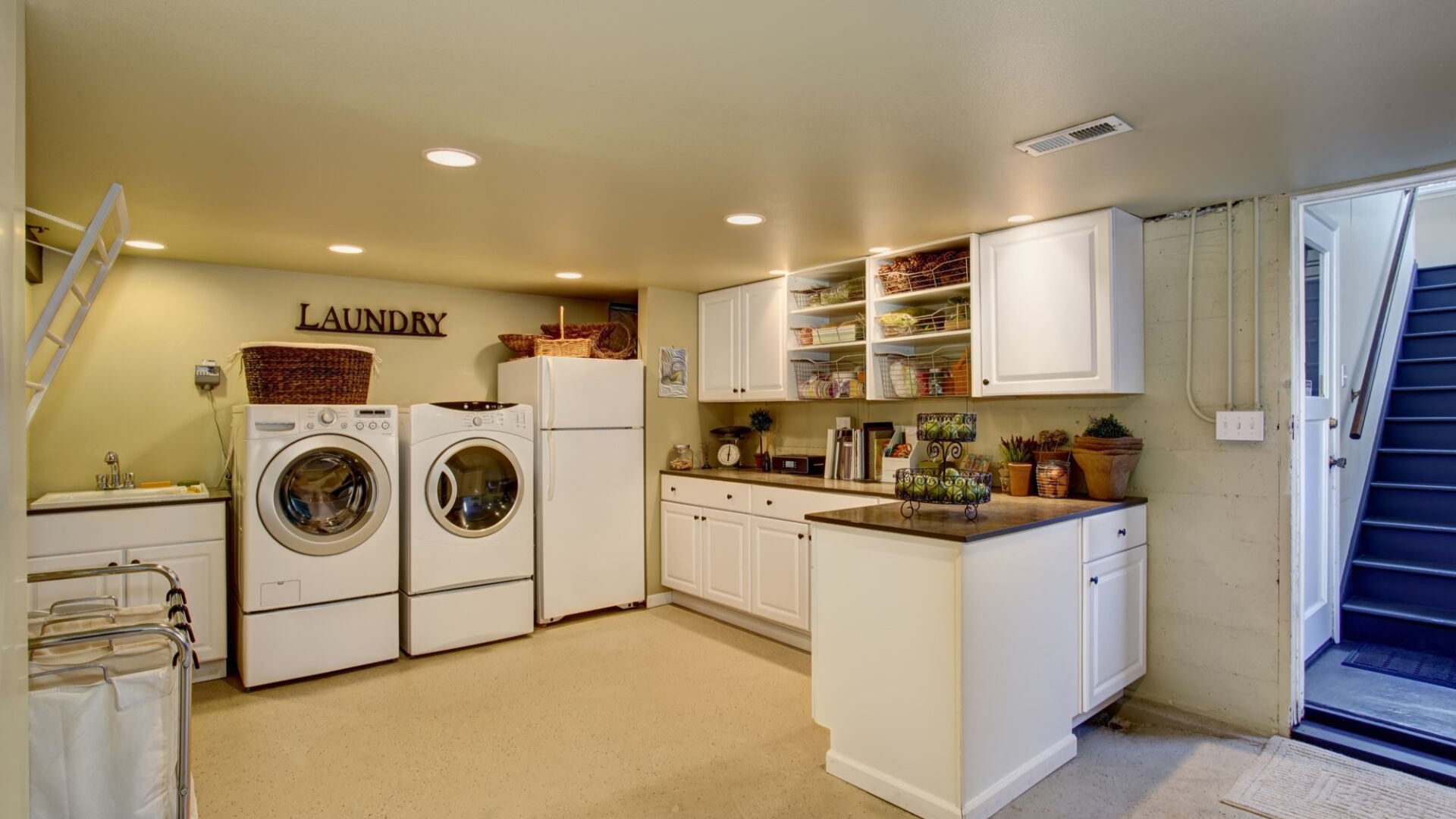 new laundry room trends